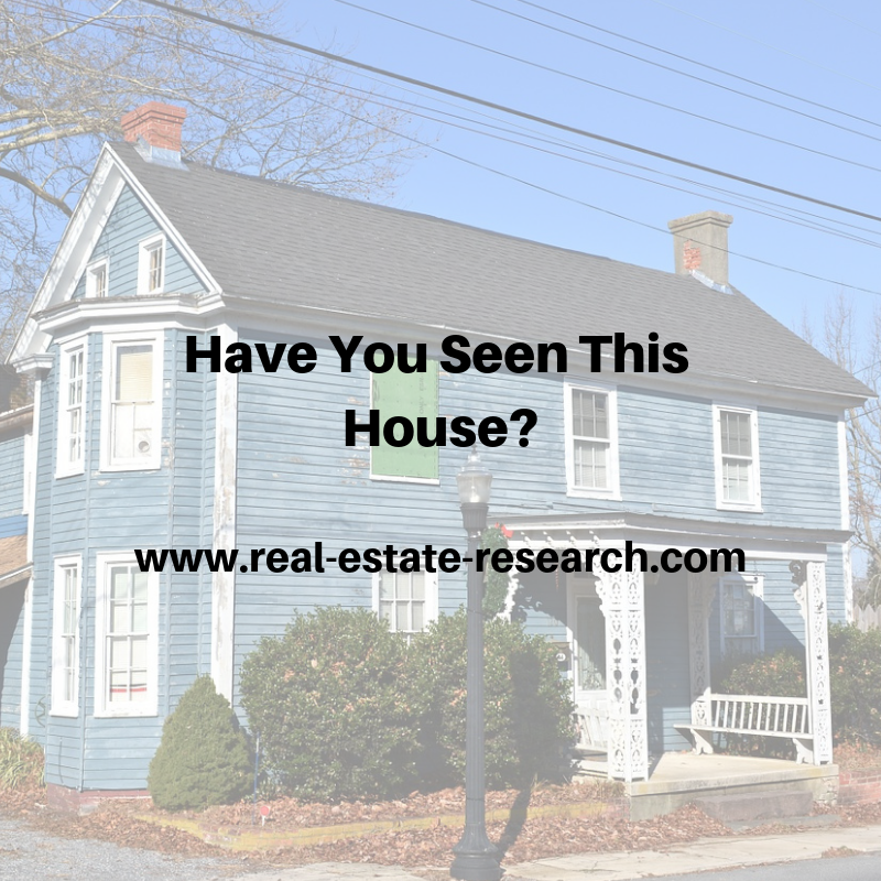 Have You Seen This House?