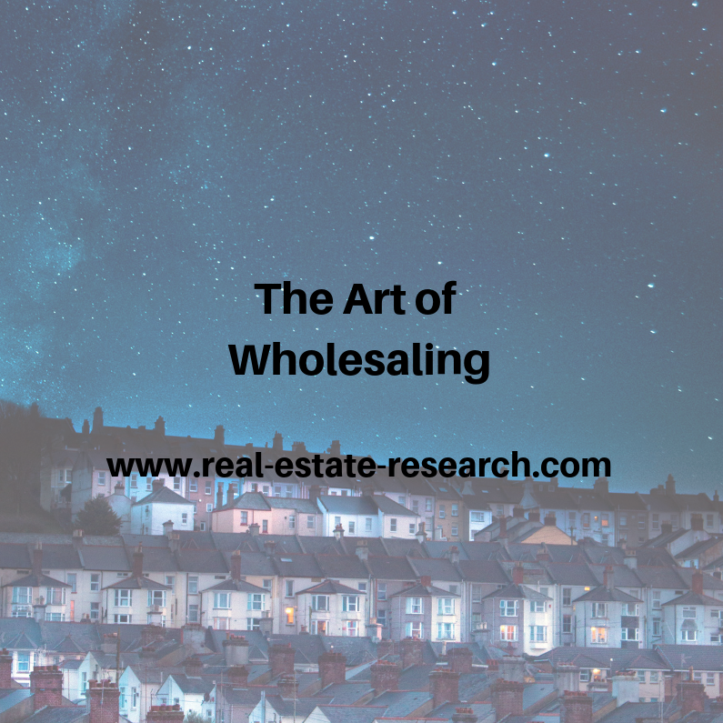 The Art Of Wholesaling