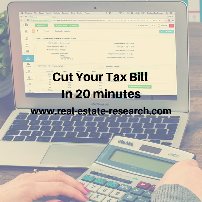 Cut Your Tax Bill In 20 Minutes