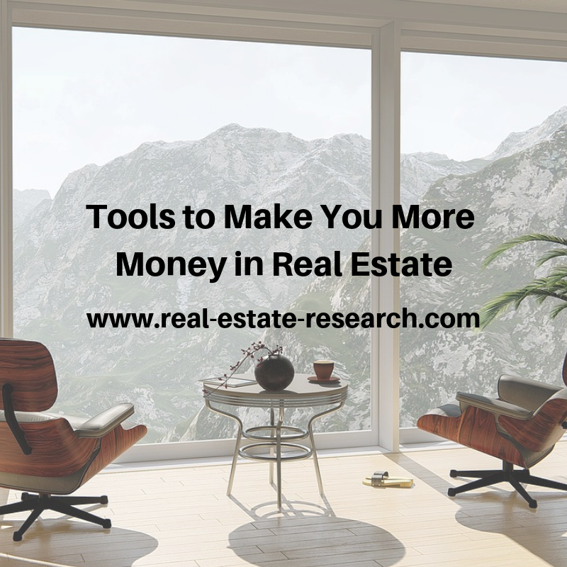 Tools To Make You More Money In Real Estate
