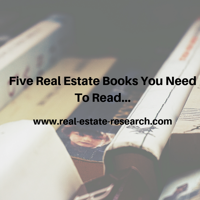 Five real estate books you need to read…