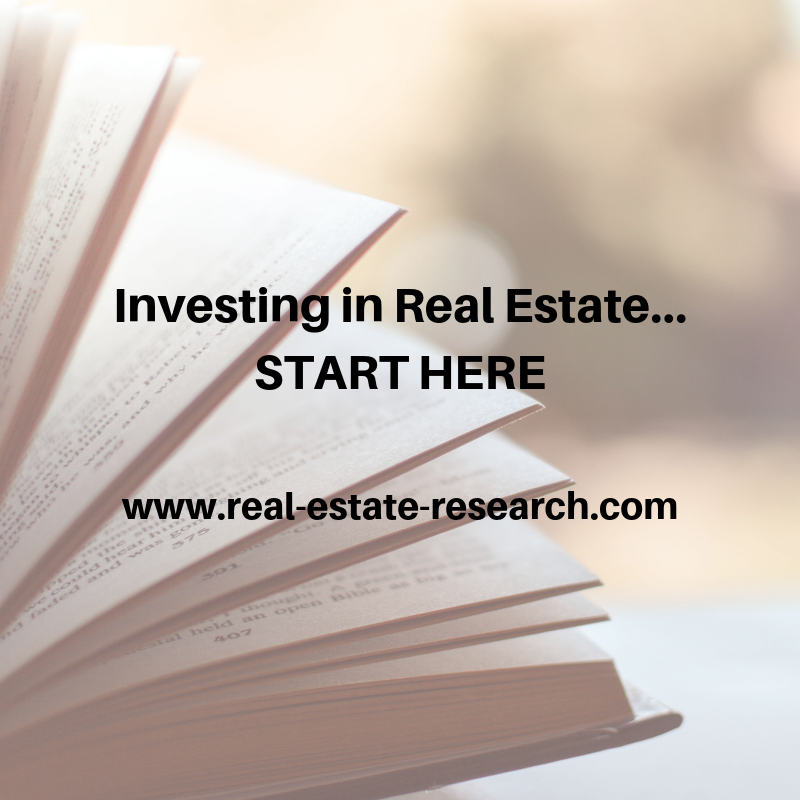 Investing In Real Estate… START HERE