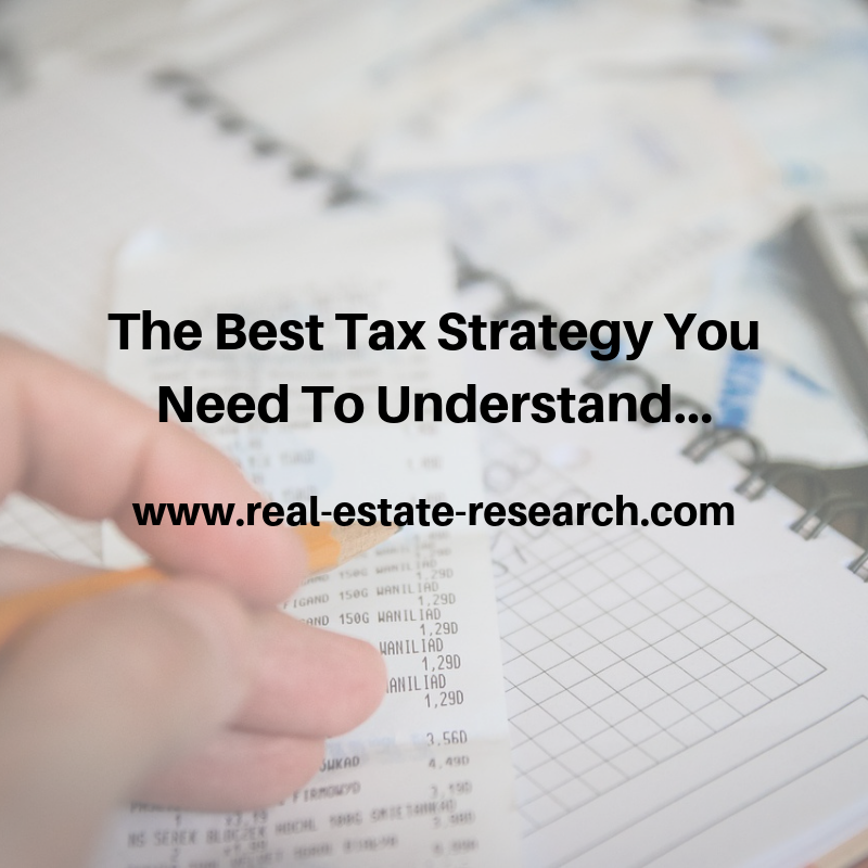 The Best Tax Strategy You Need To Understand…