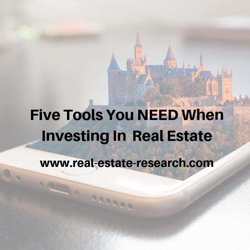 Five Tools You NEED When Investing In Real Estate