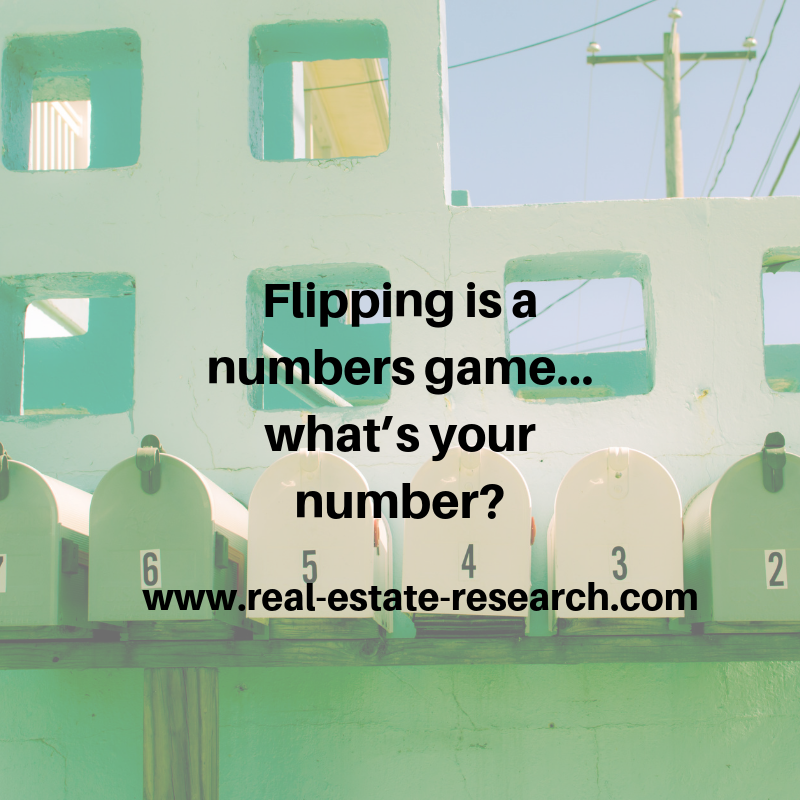 Flipping Is A Numbers Game… What's Your Number?