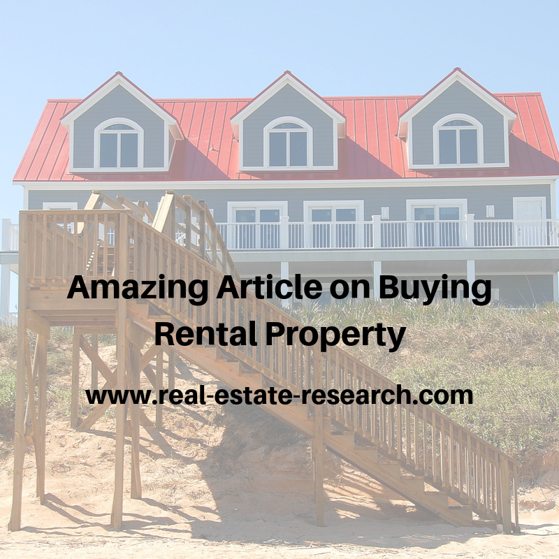 Amazing Article On Buying Rental Property