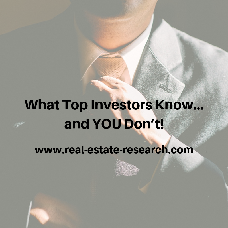 What Top Investors Know… And YOU Don't!