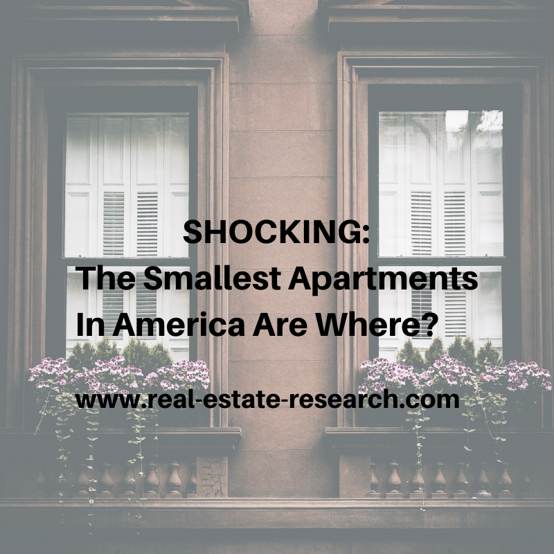 SHOCKING: The Smallest Apartments In America Are Where?
