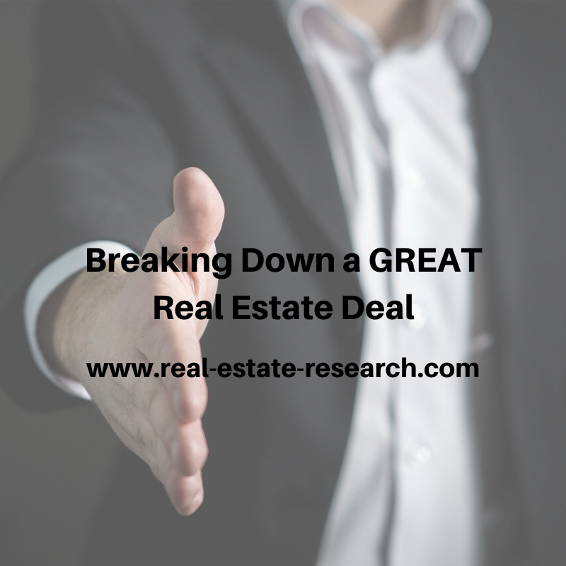 [VIDEO] Breaking Down A GREAT Real Estate Deal…